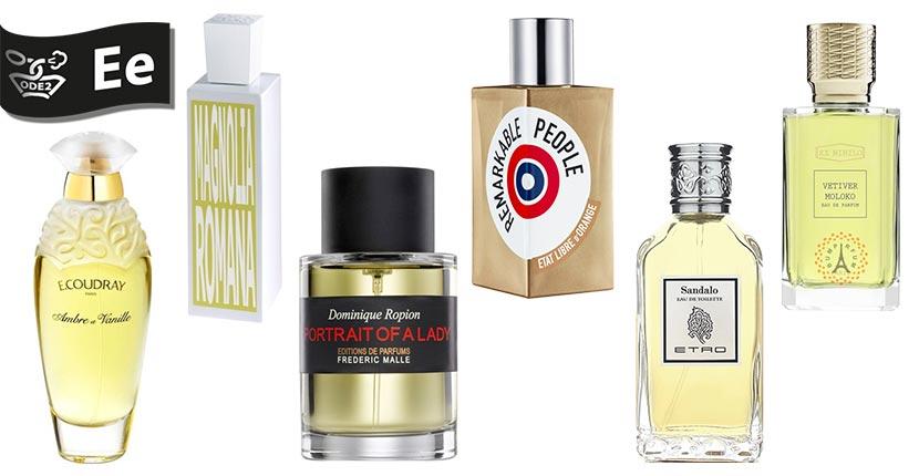 бренды нишевой парфюмерии - ecoudray, etro, ex nihilo