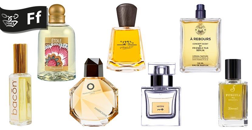 бренды селективной парфюмерии - fragonard, fueguia, frapin