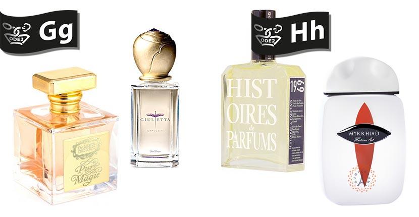 бренды нишевой парфюмерии - giulietta, Histoires de Parfums