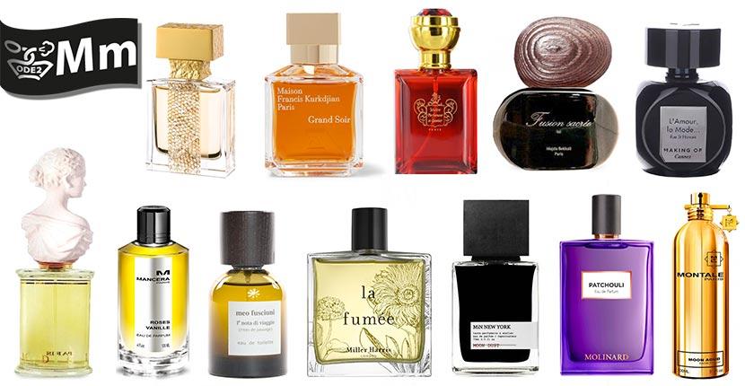 бренды селективной парфюмерии - Micallef, Mansera, Montale
