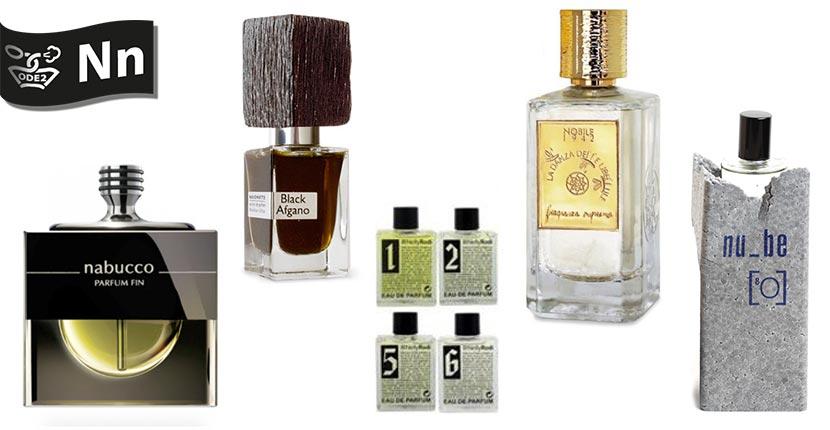 бренды нишевой парфюмерии - Nasommato, Nobile 1942, nu-be
