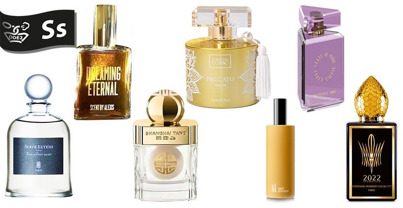 бренды селективной парфюмерии - serge lutens, Shanghai Tang