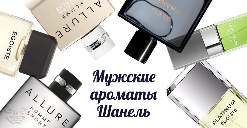 мужские ароматы шанель описание